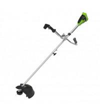Bozótvágó Greenworks GD40BCB 40v,  bicikli fogantyúval, akku és töltő nélkül